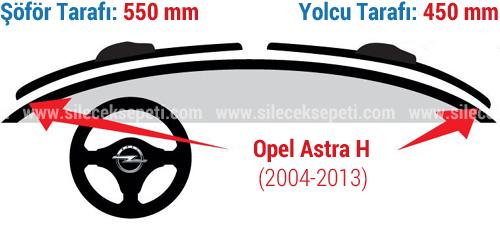 Astra H Silecek Olculeri Bosch Silecek Sistemleri Online Satis