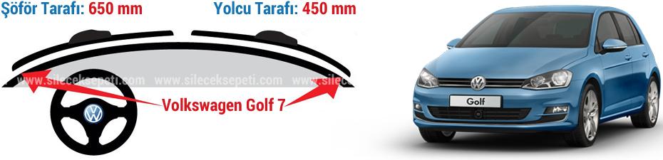 volkswagen golf 7 silecek (bosch aerotwin)   bosch silecek